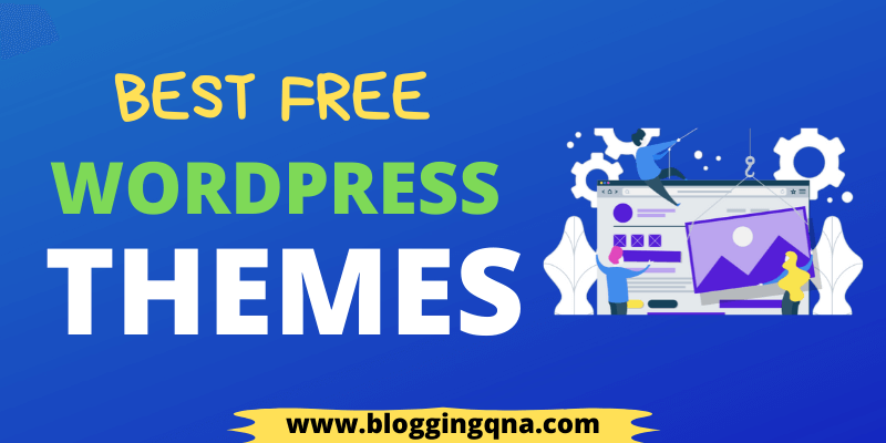 best free theme for WordPress