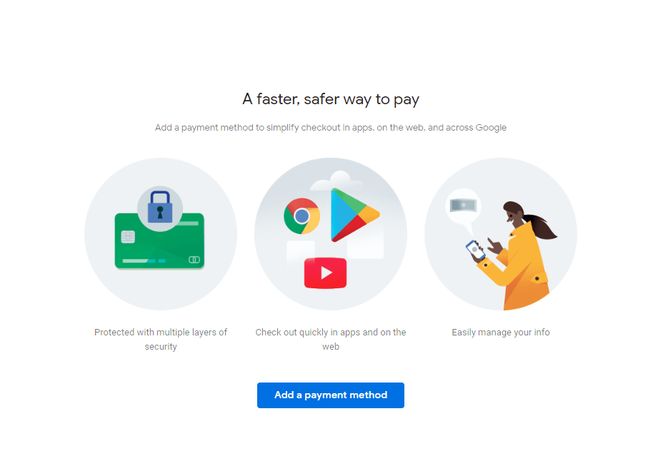 add payment method-Delete Disabled Adsense Account