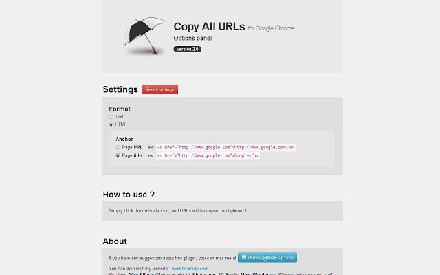 Copy-All-Urls-Chrome-Extension