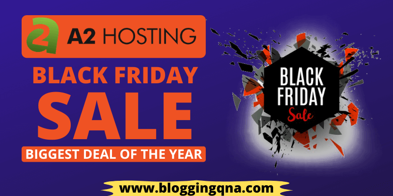a2hosting black friday deal