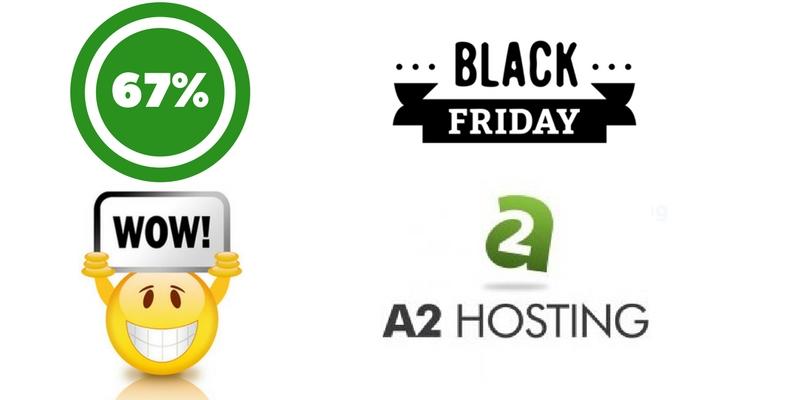 a2hosting black friday web hosting deal