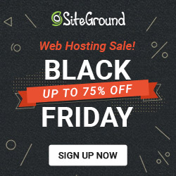 siteground black friday web hosting deal