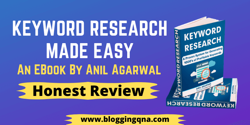 keyword research made it easy ebook