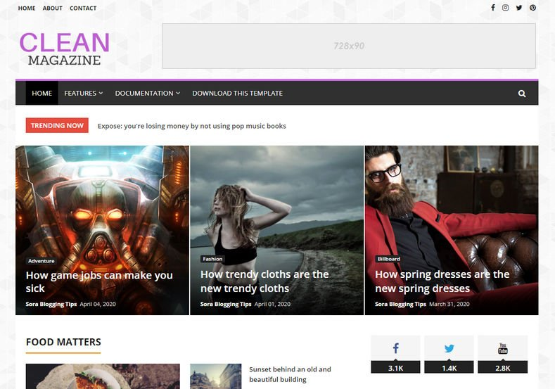 CleanMagazine-Blogger-Template-2