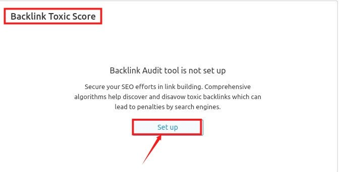 backlinks toxic section