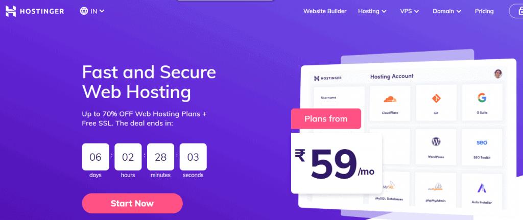 hostinger hosting coupon