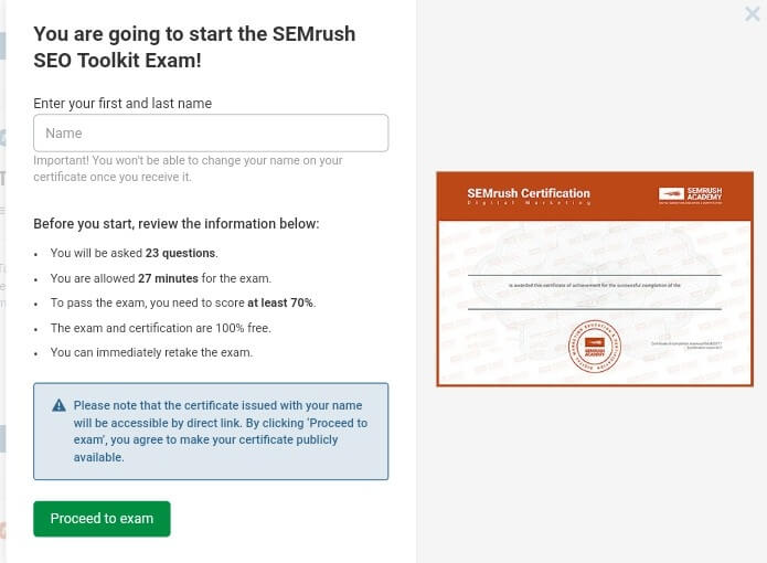 semrush tutorial and review