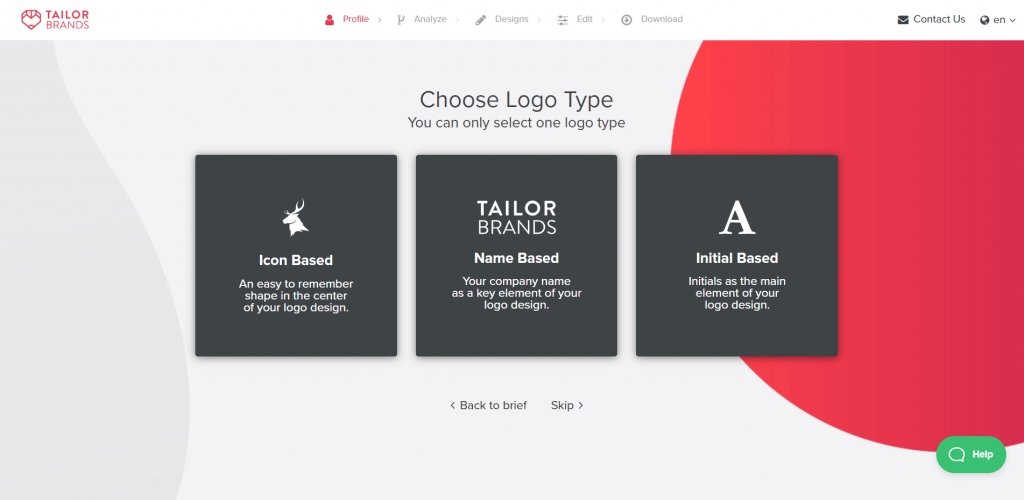 tailor brand features