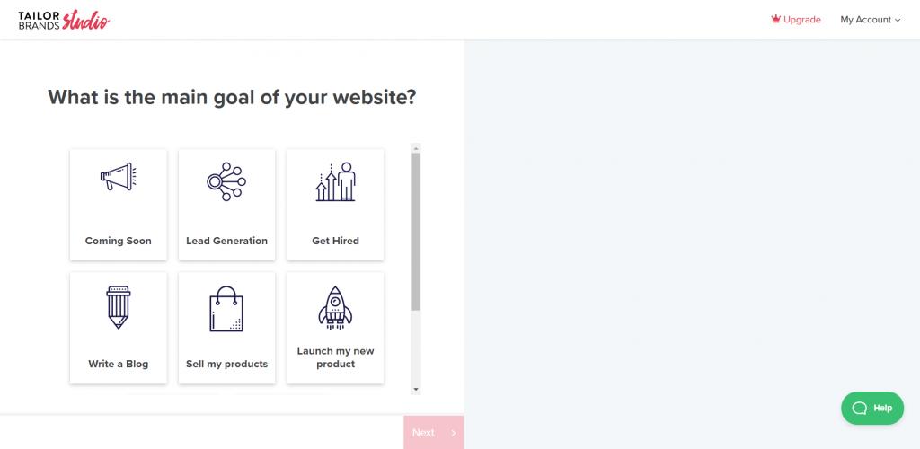 tailor brand online logo maker
