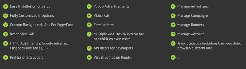 WP PRO  adsense plugin