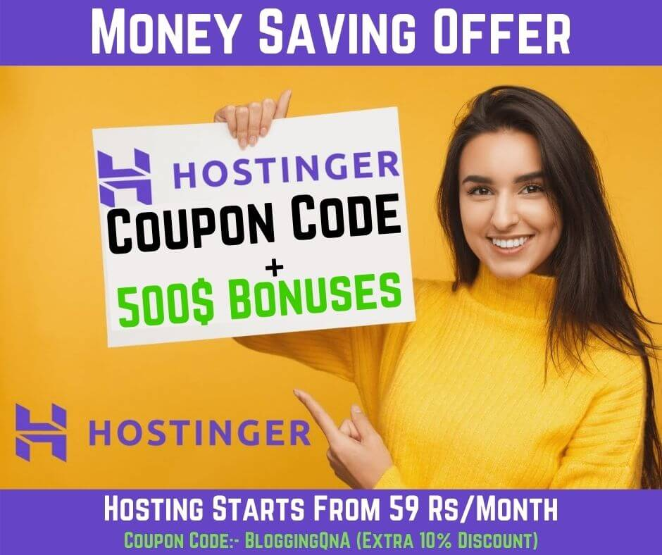 hostinger offer