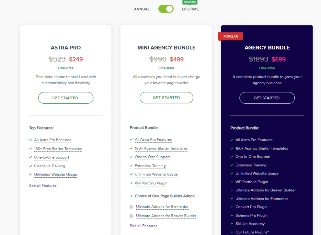 astrapro plans and pricing