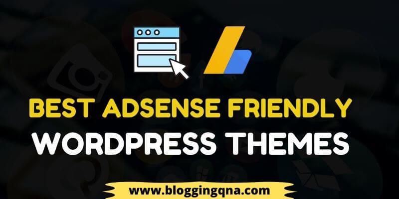 best adsense friendly wordpress themes
