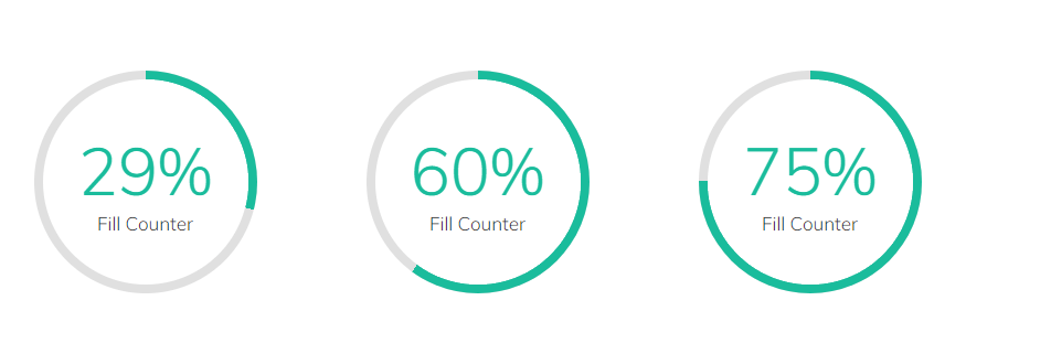 fill counter elements