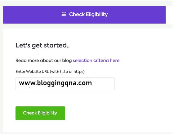 check eligibility