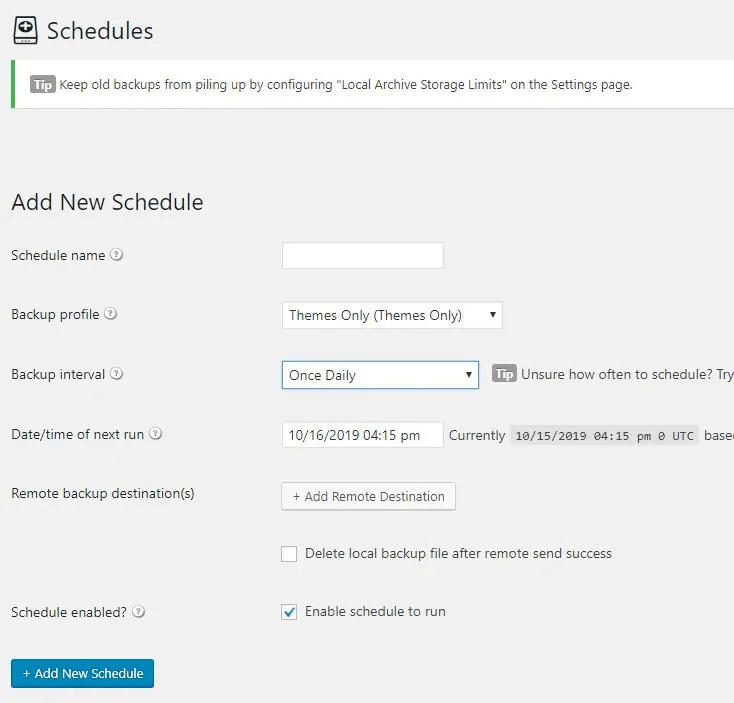 scheduling-backups-wordpress-plugin