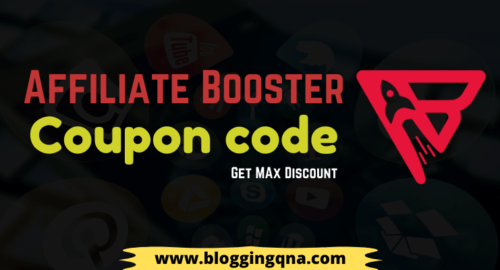 Affiliate Booster Coupon code