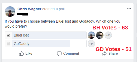most voted hosting
